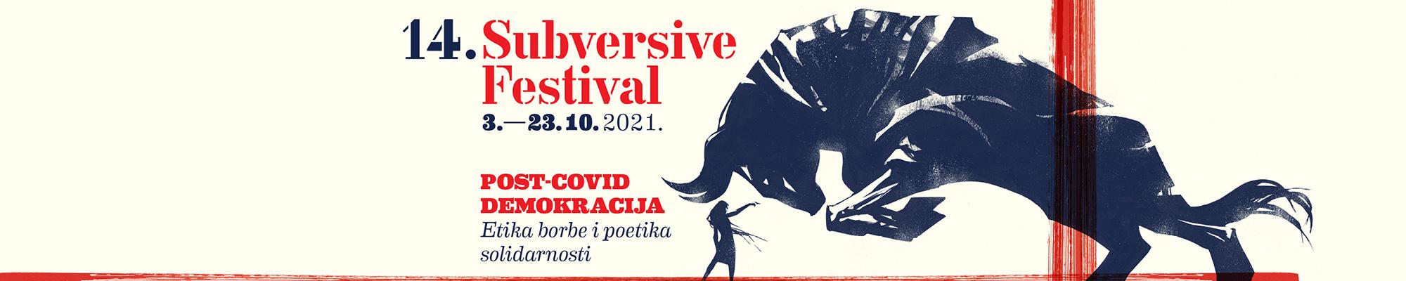 Listopad u znaku 14. izdanja Subversive Festivala – uživo i online!