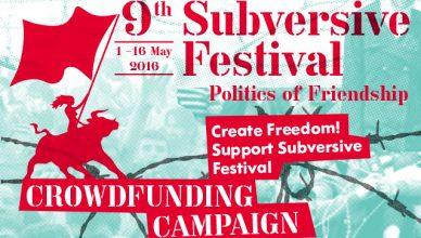9. Subversive Festival: Crowdfunding kampanja