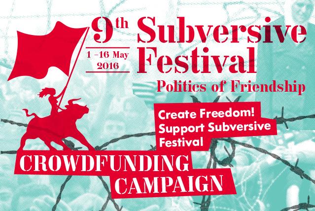 Crowdfunding - Subversive Festival