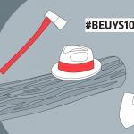 Instalacija SADiti je BITNO umjetnice Lucije Žuti povodom 100. obljetnice Josepha Beuysa